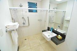 Banheiro apto superior PNE