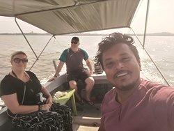 boat safari in koggala lake