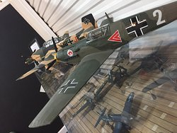 WWII aircraft models
