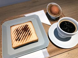 選択朝食(ホットサンド/ハムチーズ)