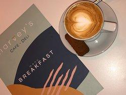 Ouseburn Coffee & breakfast menu