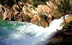 Photos prise sur le site des cascades del Algar