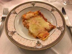 Les lasagnes Mont-Blanc
