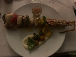 Gorgeous food at riviera