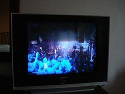 Bildqualität des Röhrenfernsehers