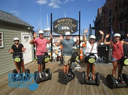 Create #fun #memories with us as we visit the #harbor to highlights of the #FreedomTrail & more! Learn why #Boston #Segway #Tours is #1 on #tripadvisor! 😎 www.bostonsegwaytours.net