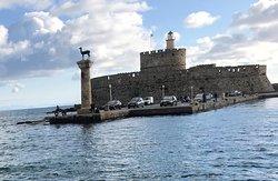 Vista del Fort of St. Nicholas