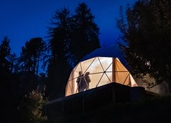 Geodesic Dome Glamping in Manali