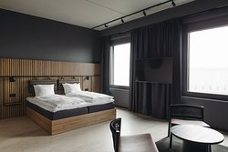 Deluxe room with one king size bed