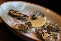 Oysters Rockefeller our brand new menu's item