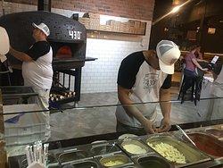 Verdadeira pizza Napolitana em Indaiatuba