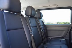 All our cars are equipped with air-conditioning systems and seat bealts for all passengers.