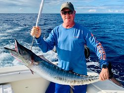 First wahoo of the day!