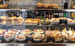 Nuestros productos en Bar Café Santiago