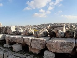 Viewonammanthe capital ofjordanfrom theamman citadel  Overlooking the city of Amman from the old citadel. There are so many treasures to find in this Middle East City!