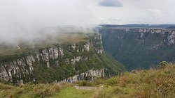Cânion Fortaleza (com neblina).