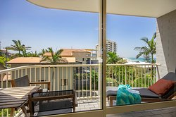 Private Balcony with Ocean View