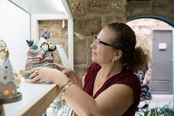 Ten female artists from the galilee.