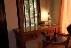 Desk in the room