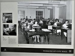 'working at City Hall' in the old days