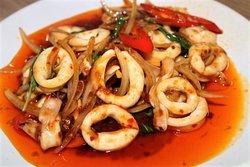 calamari chili paste