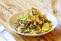 Grilled Chicken Pesto Salad