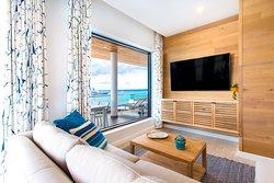 Beachfront Penthouse 60-Inch Flat-Screen TV