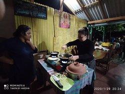 cookery  class at sigiriya
