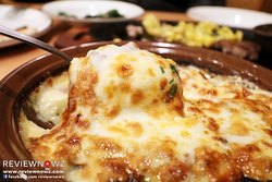 Doria with Meat Sauce & Cheese