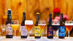 Beers by Pihtla brewery. Photo by Tanel Riivits.