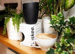 Nasze kubki ekologiczne - z fusów kawy