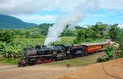 a Locomotiva em Corupá