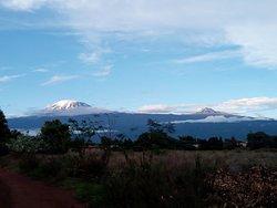 Kilimanjaro view from Rundugai Village