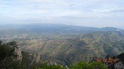 Parc Natural de la Muntanya de Montserrat. Novembre de 2019