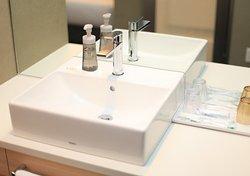 【客室】すっきりとした洗面台