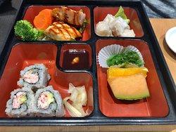 Teriyaki Salmon bento box