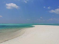 altra vista della spiaggia dell'holiday island