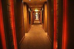 Typical hallway decor