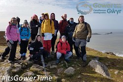 Hillwalking with us gets you really high!