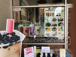 Many Flavors to choose from Coffees and Teas.