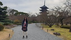 Templo TO-JI em KYOTO.