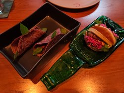 烤豬肉包子與玉米軟餅