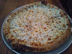 Amazing pizza.