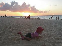 Eagle beach, early evening