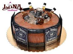 Tort z motywem Jack Daniel's