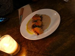 Gnocchi au manioc avec sauce aux champignons