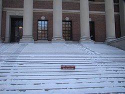 Escadarias na Universidade