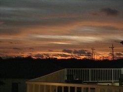 1月の西表は午前7時頃にやっと夜が明ける