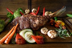 Australian Tomahawk 1.3kg grilled to perfection!
