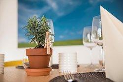 Table restaurant le Jardin